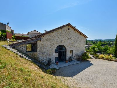 Photo for Splendid Holiday Home in Espère France with Private Pool