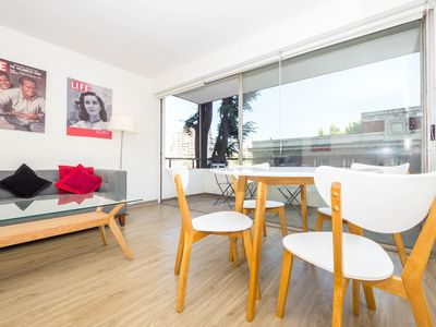Photo for Renovated apt in Las Condes, close to metro/malls