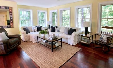Walk to the beach and town! 5+ BR, 4 BA luxury home