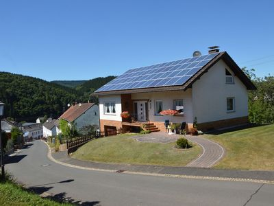 Photo for Nice detached holiday home with magnificent view in the picturesque Eifel village of Densborn