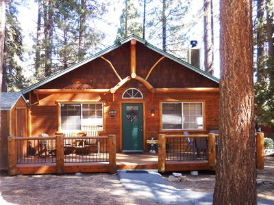 Photo for Cozy Cabin Close to Lake, Forest, Hiking, Biking, Golf, Dinning & Shopping