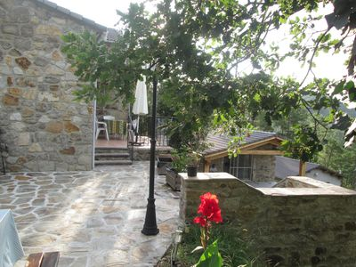 Photo for Holiday house in the Cévennes in Malbosc  with pool, close to the Lozère mount