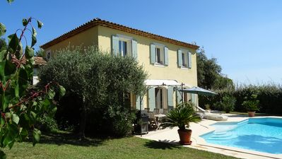 Photo for Biot near Cannes, villa with private pool