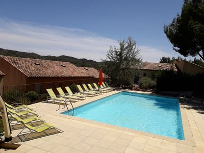 Photo for house 6pers 3ch with swimming pool in international golf