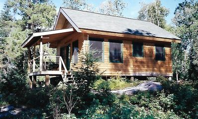 Photo for Wolf Point Cabin - Remote Access Retreat