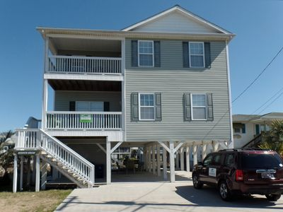 Photo for Large channel home in Cherry Grove - Session Break