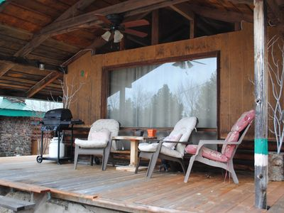 Photo for BET-CHA-WANA STAY Moose cabin- Vacation Rental