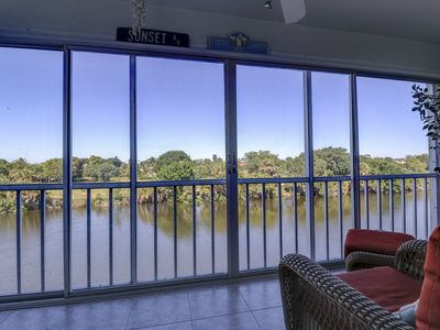 Photo for Spanish Cay D5: Updated Condo on 3rd Floor w/ Beautiful Sanibel River Views!