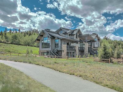 Photo for Incredible views from this Modern Mountain home with elevator on the golf course