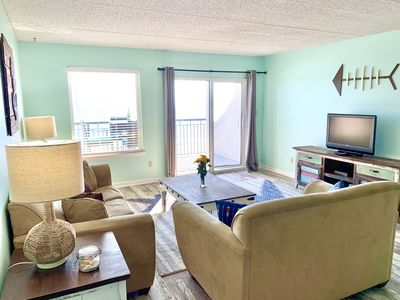 Photo for New to VRBO! Just Remodeled! Spacious Direct Beachfront Island Echos 4P!
