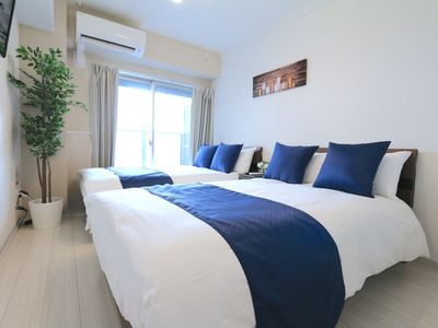 Photo for SS72 New Twin Room 3 minutes on foot from Dotonbo - 702 / Osaka Osaka