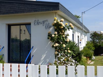 Photo for HOUSE WITH ENCLOSED GARDEN, very close to the sea QUIBERON