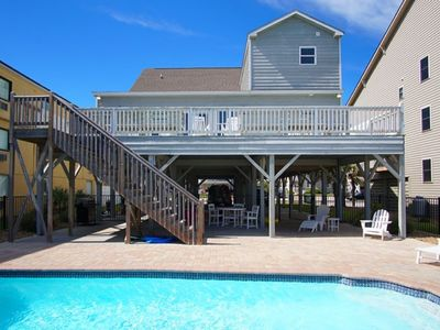 Photo for Seals Gardner, Oceanfront 6 Bedroom Cherry Grove Home with a Pool