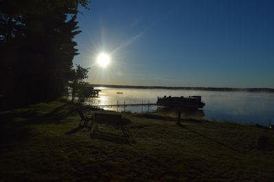 Morning Lake view - waking up here is easy on you