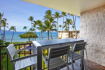 Amazing views from the private lanai.