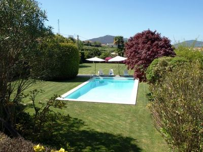 Photo for 6 bedroom Villa, sleeps 12 with Pool, Air Con, FREE WiFi and Walk to Shops