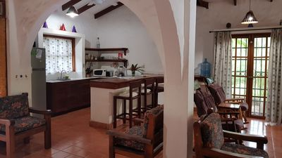 Photo for Casa Ulla beautiful 3 bedroom house with private tropical garden