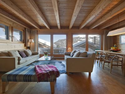 Photo for Verbier - Luxury Catered Chalet Berbou