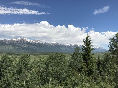 Photo for Total Solar Eclipse View Into Grand Teton Park From This Spacious Property