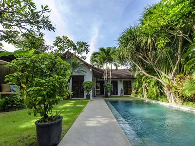 Photo for Enchanted JaM . 3BR pool villa . Oberoi/Seminyak