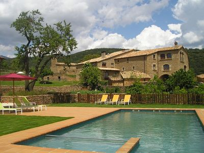 Photo for Magnificent house with pool in the Pyrenees