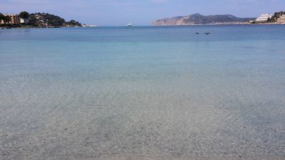 Photo for Santa Ponsa - Palma de Mallorca at the foot of the beach 4 beds