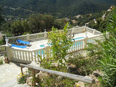 Photo for P-Villa with swimming pool in peaceful residence - Unobstructed view / near animations