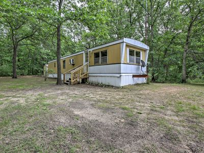Photo for Cozy Fountain Cabin on 2 Wooded Acres by 3 Lakes!