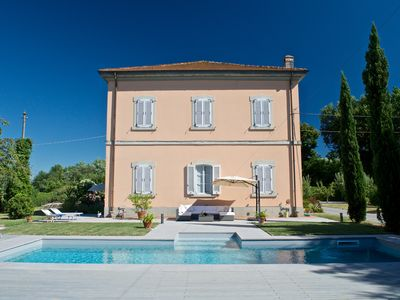 Photo for Dream Living with private pool, near Lucca and the sea. Large orchard. WI-FI