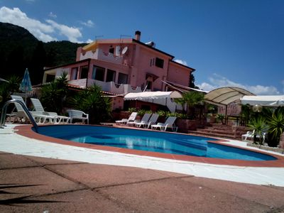 Photo for 4BR Villa Vacation Rental in Pula, Sardegna