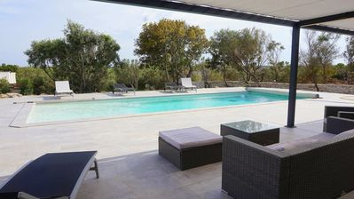 Photo for Villa 355, air conditioning + private pool