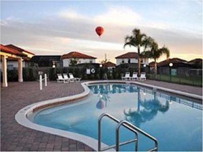 Photo for Gated Resort, Orlando Pool Home, w/Hot tub,  6 miles to Disney