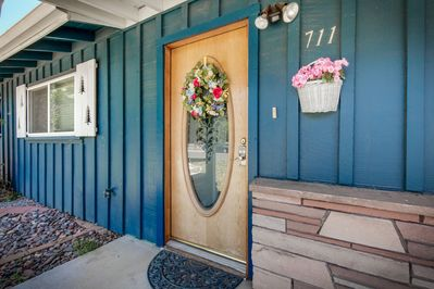 Campbell Cottage is full of vintage charm and is all on one accessible level.