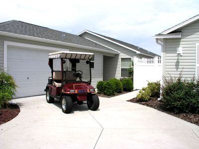 Front of Home with Cart