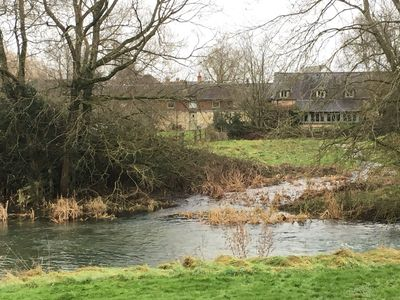 Photo for A charming cottage on the Lower Mill private nature reserve in The Cotswolds