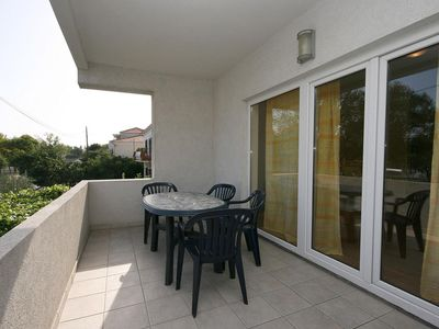 Photo for Studio flat with terrace Omiš (AS-4654-b)