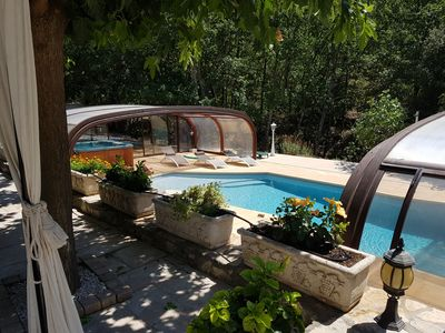 """Photo for Bed and Breakfast """"Camille"""" in the peace of green Provence"""