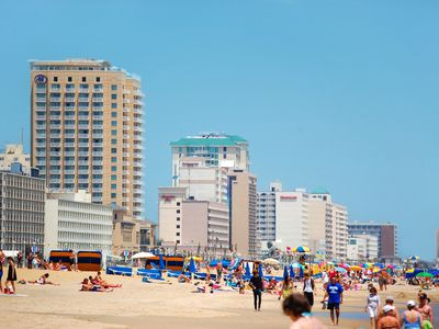 Photo for Oceanfront & Pool, on the Boardwalk at 37th Street