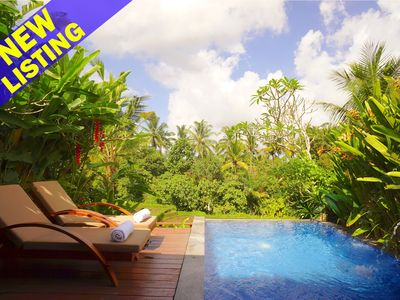Photo for 1 Bedroom Private Pool Villa, 10 Minutes to Central Ubud;