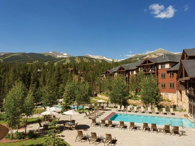 Photo for Timber Creek lodge - Ski -in and out  - Resort