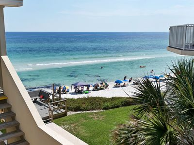 Photo for Gulf-Side Condo with Wonderful Gulf Views in the heart of Seagrove!