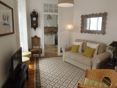 Photo for Casa do Carmo apartment in Baixa/Chiado with WiFi & balcony.