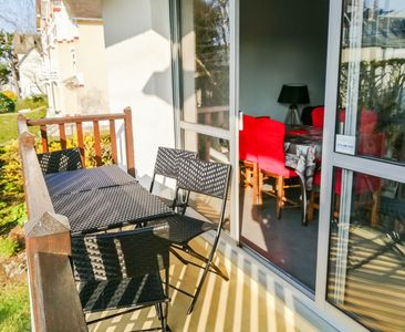 Photo for Cabourg apartment *** 200 m from the beach for 5 people + private garage