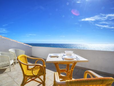 Photo for POSEIDON ATIC. Splendid waterfront penthouse with incredible views!