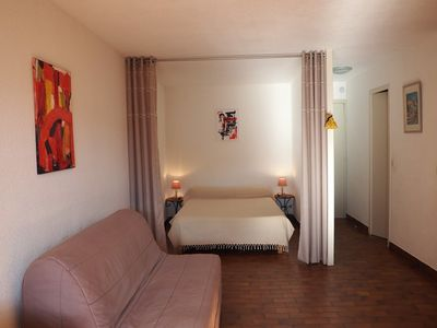 Photo for 2 Rooms cabin 6 persons.