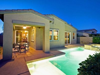 Photo for Elegant Private Pool & Spa Home on Golf Course with Gorgeous Views!