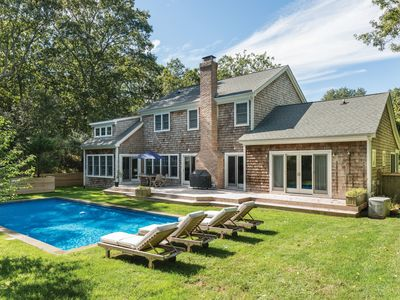 Photo for Spacious, Bright & Private 4/5BR in Amagansett w/Pool, walk to beach