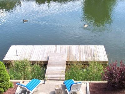 Dock and Boating just steps from your door!