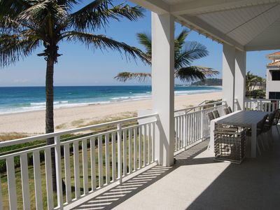 Photo for Absolute Beachfront House 3 Levels in Palm Beach