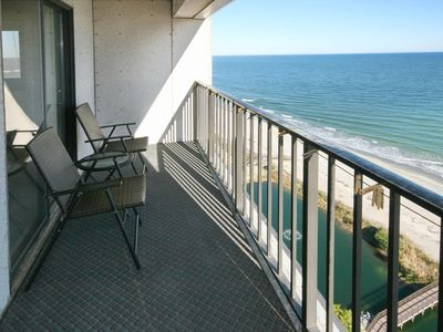 Photo for Myrtle Beach Resort T1601 | Newly Renovated Awesome Ocean Front Condo
